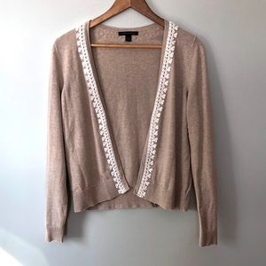 Banana Republic Open Front Cardigan Knitted